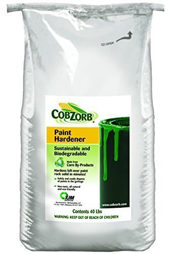 CobZorb® Paint Hardener 40 lb. bag CZA-40 lb 8-13 bag-DS