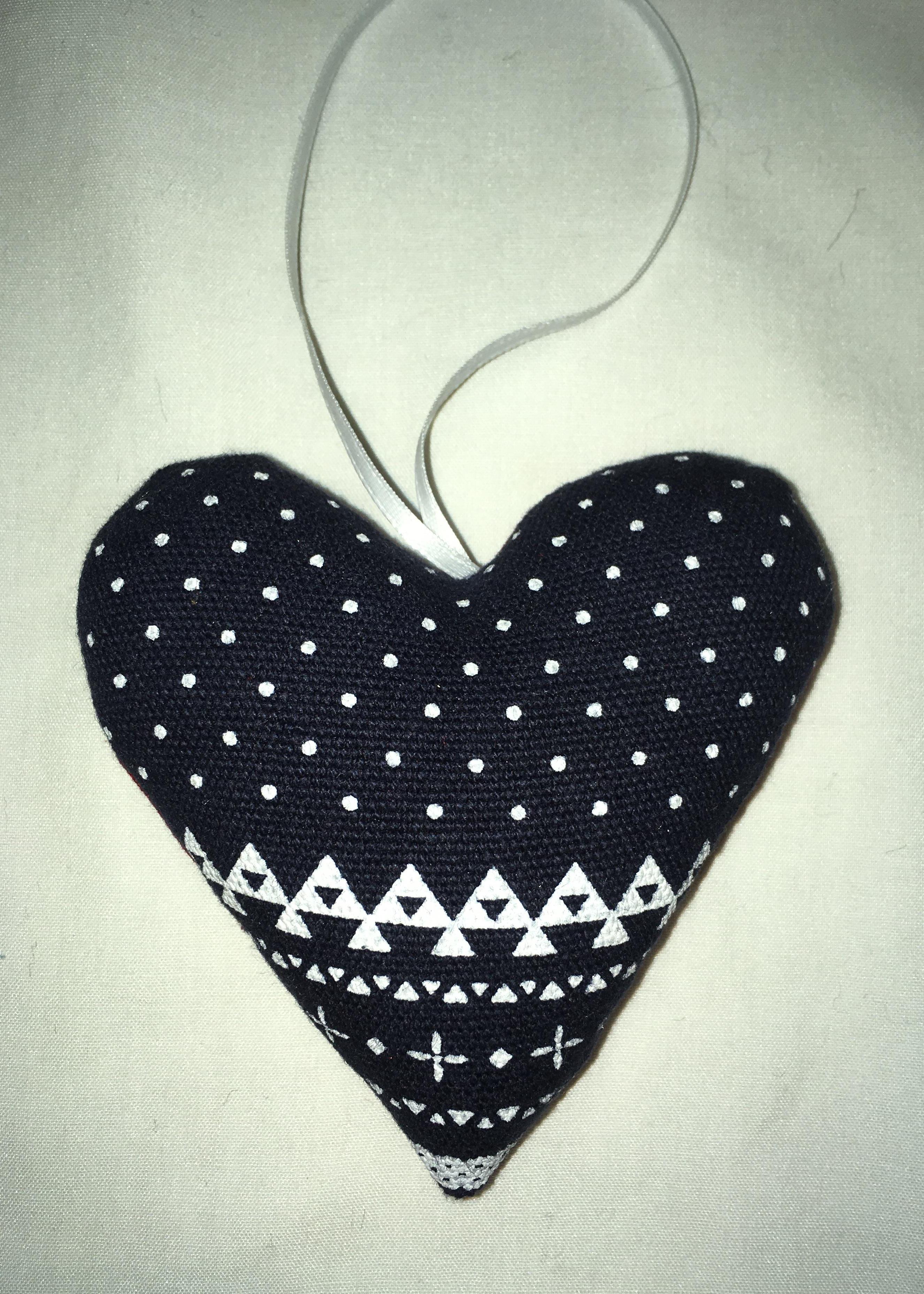 Heart Ornament 005