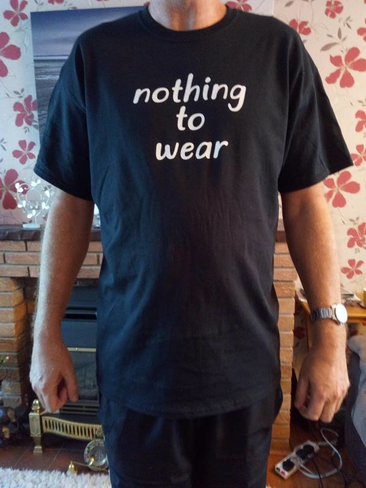 Sharewear 'nothing to wear' campaign t-shirt TSHIRT