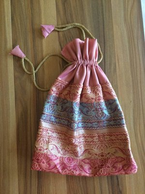 Potli Gift Bag Pink