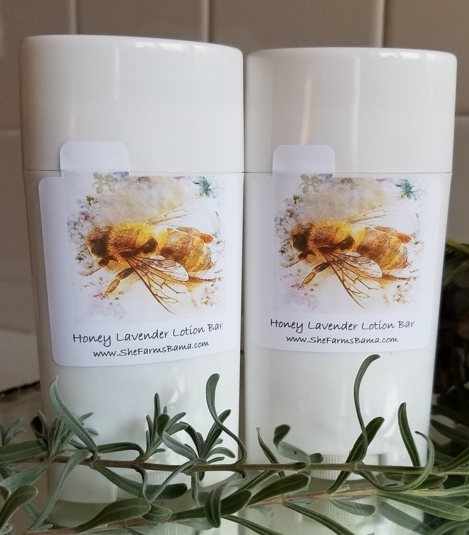 Honey Lavender Lotion Bar 00002