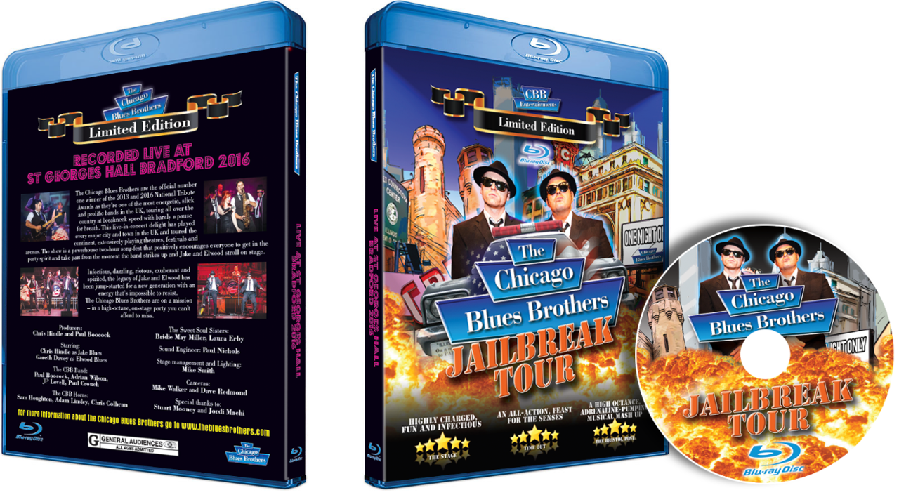 Chicago Blues Brothers Bluray