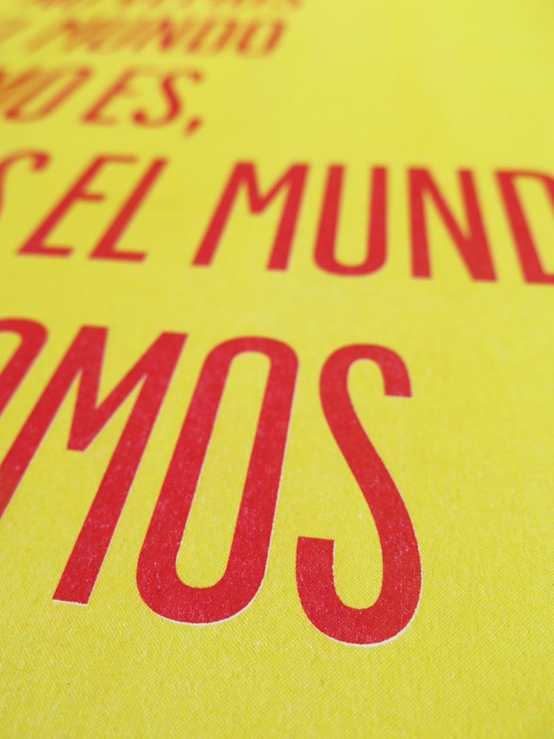 """Poster Risografía """"ComoSomos"""""""