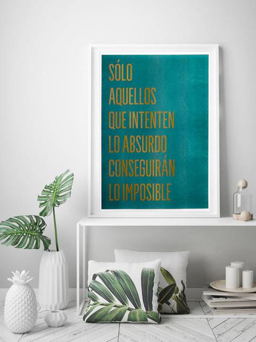 "Poster Risografía ""SoloAquellos"""