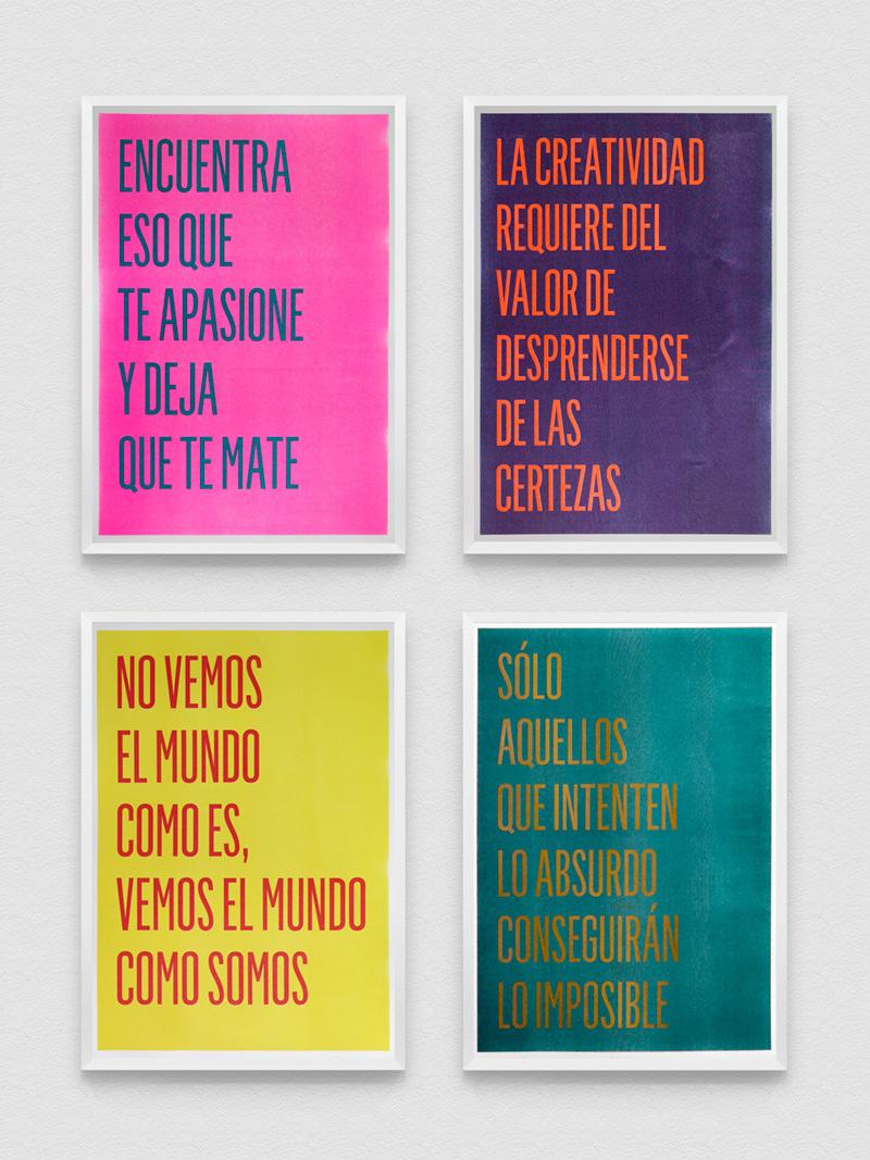Set 4 Posters Risografía 18-05