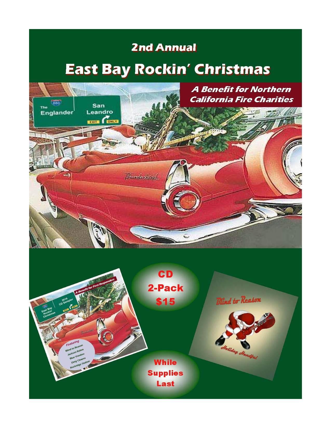 East Bay Rockin Christmas CD 2-Pack 00001