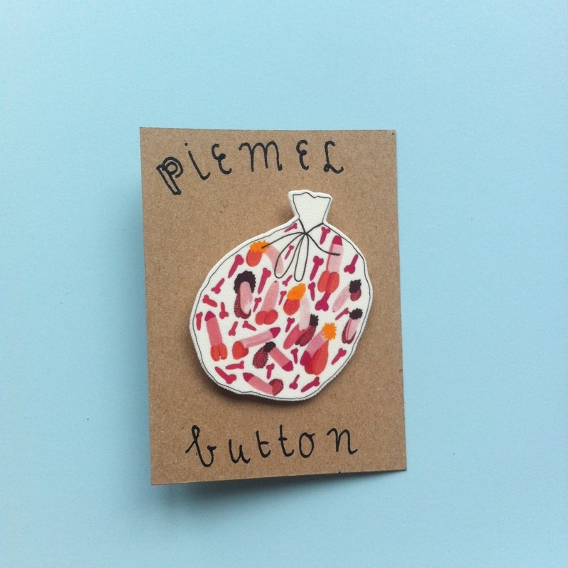 PIEMEL BUTTON Shipping included!