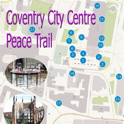 Coventry City Centre Peace Trail