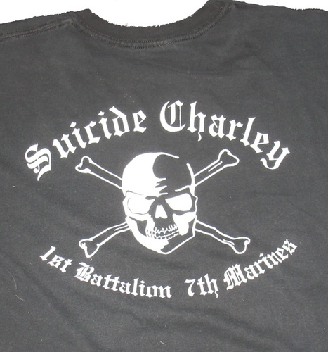 Suicide Charley Short Sleeve T-Shirt Medium (Black) 00001