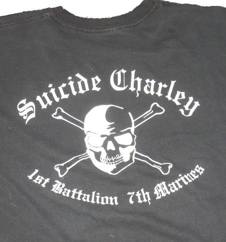 Suicide Charley Long Sleeve T-Shirt Medium (Black) 00006