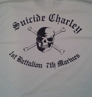 Suicide Charley Long Sleeve T-Shirt X-Large (White) 00016