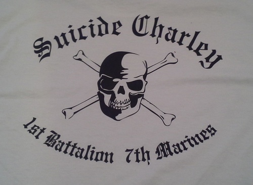 Suicide Charley Short Sleeve T-Shirt XX-Large (White) 00019