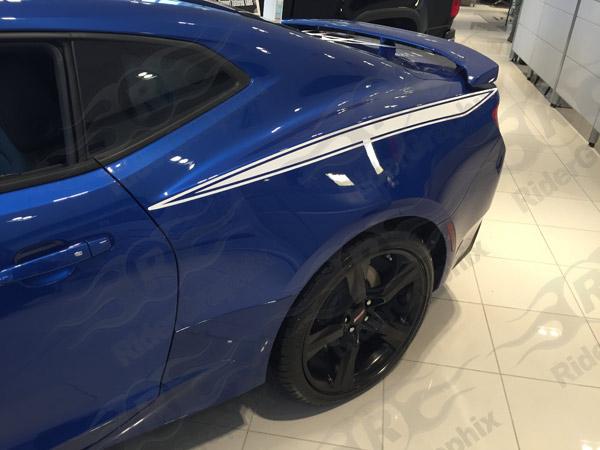 2016 2019 Camaro Rear Quarter Panel Stinger Stripes