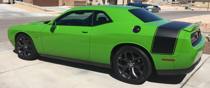 2008 Up Challenger Drag Pack Style Wide Tail Stripe