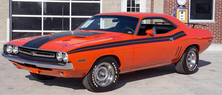 1970 1974 Dodge Challenger Graphics