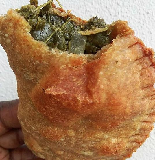 vegan callaloo/ spinach patty half dozen
