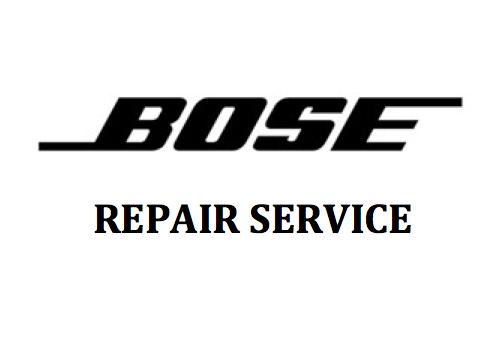 Bose Speakers Repair Service