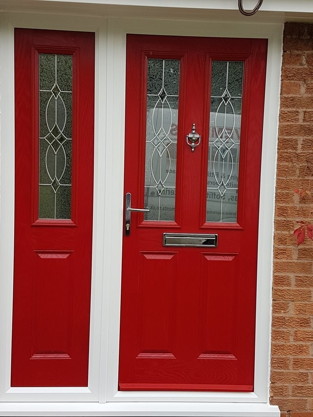 2 Panel 2 Square Style Composite Door Amp Composite Side Panel