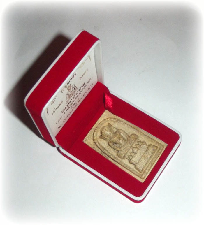 Pra Somdej Kaiser Jumbo Buddhist amulet comes with box