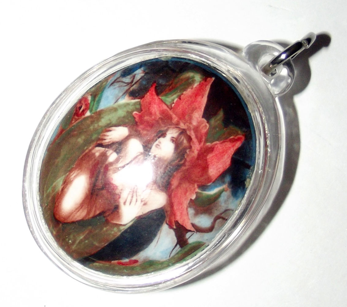 Mae Nang Dork Mai Flower Fairy Deva Locket