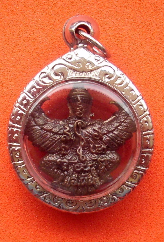 Garuda amulet LP Pan - Wat Sai Khaw