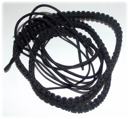 hand woven cord waist belt for amulets