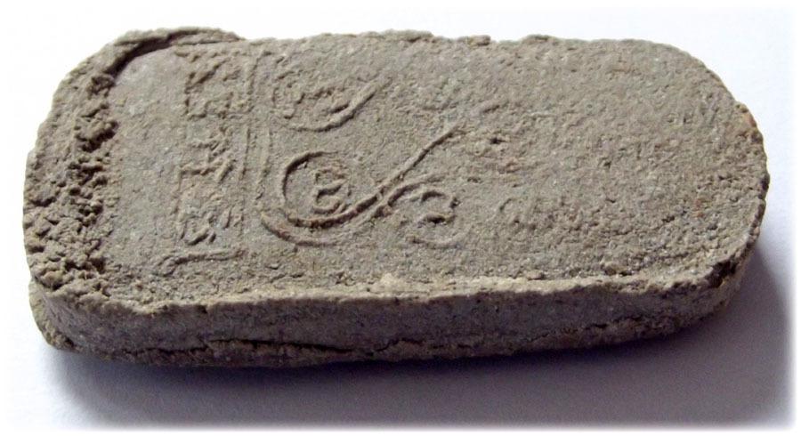 Pra Nakprok Taep Nimit Ancient Amulet