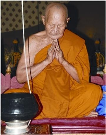 Luang Phu Waas Wat Sapan Sung - Thai Amulet maker