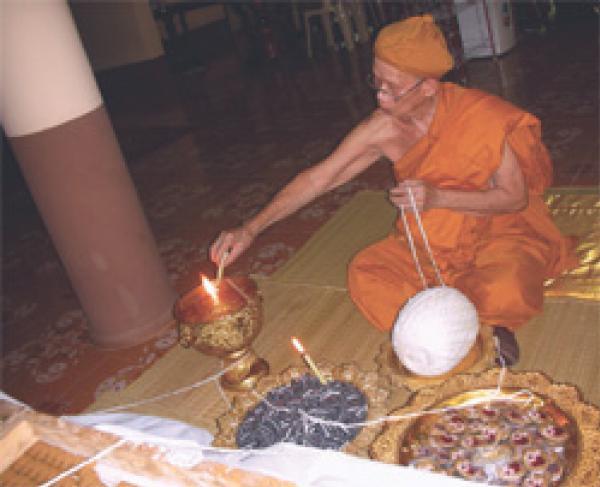 Luang Por Bun gerd blessing amulets
