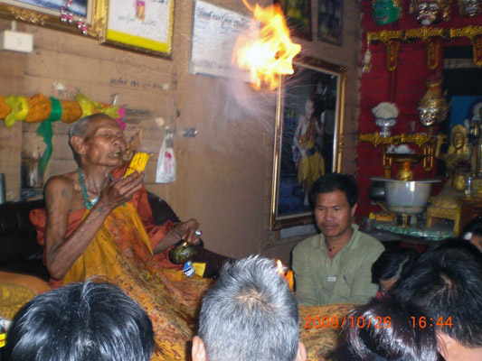 Luang Phu Nong Tammachodto - Wat Wang Sri Tong