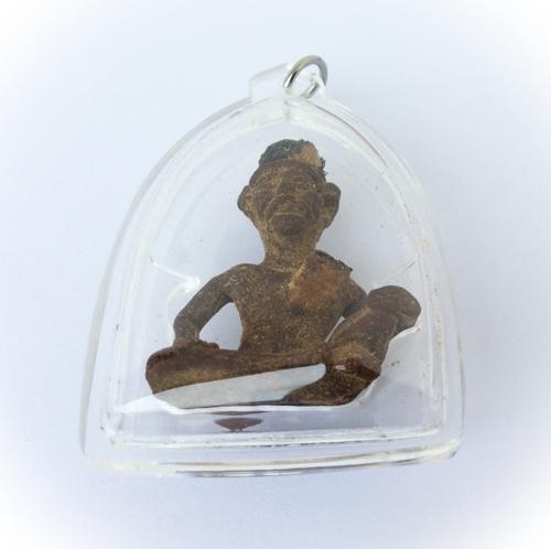 Lersi Hermit God amulets in samadhi posture