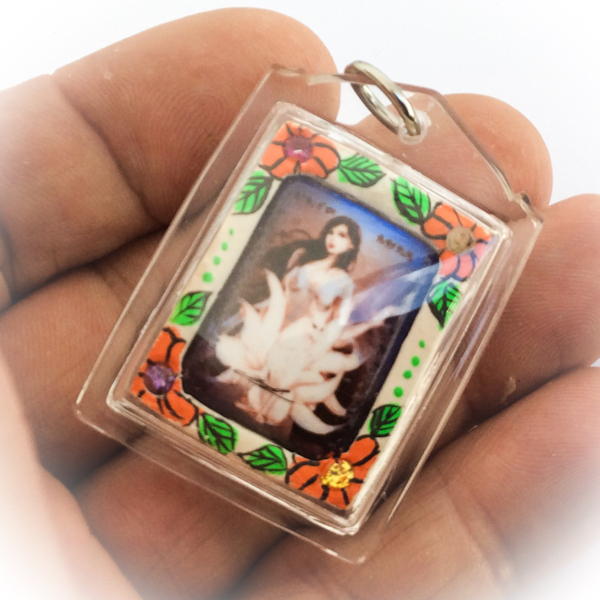 waterproof casing is included in the price of this amulet