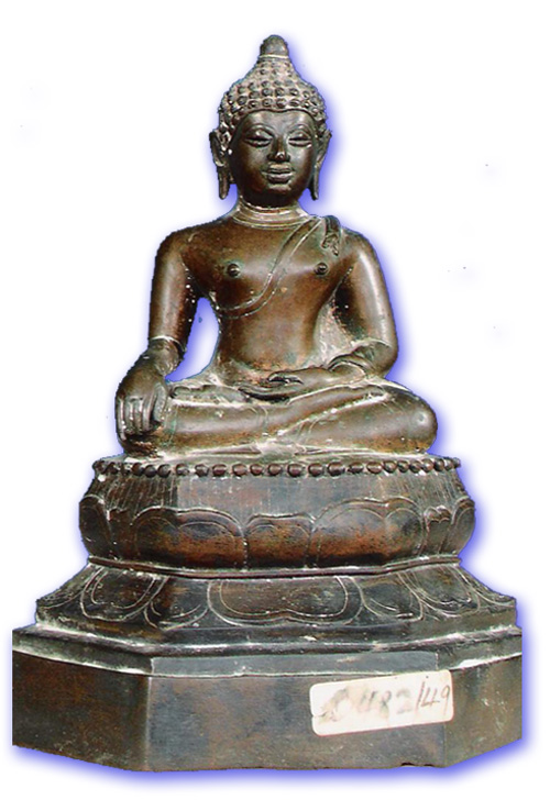 Chiang Saen periodic Art Ancient Buddha Image