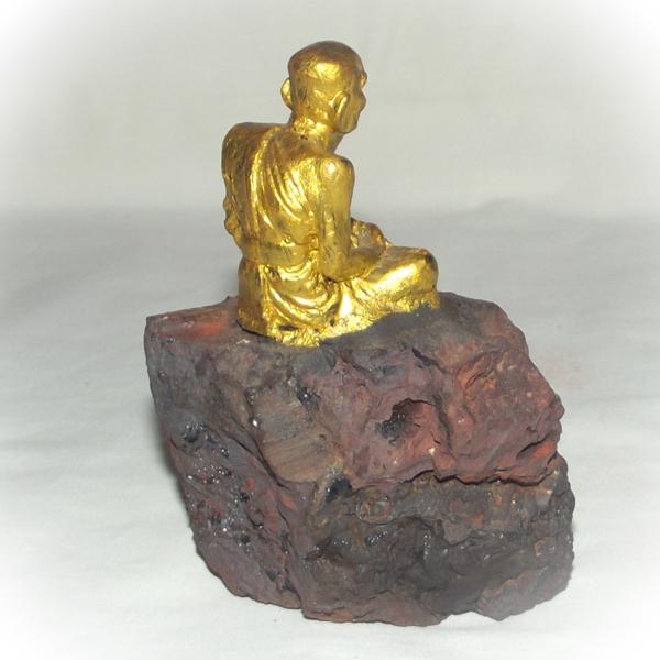Luang Phu Tuad statue on Lek Lai Kaya Siddhi Elemental Substance