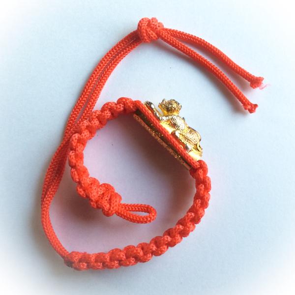 Hanuman bracelet with Takrut