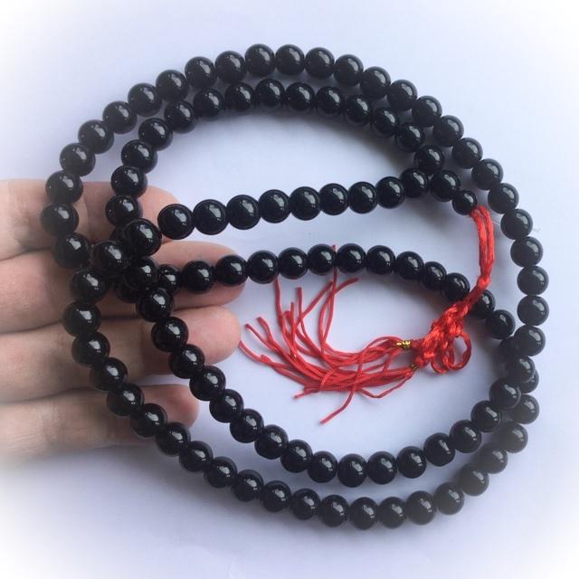 Hematite Buddhist Mala Bead Rosary