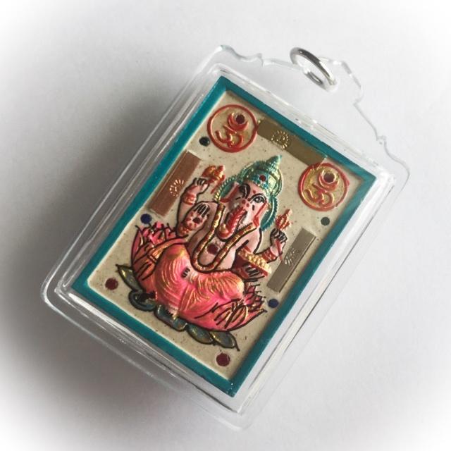 Ganesha side of amulet