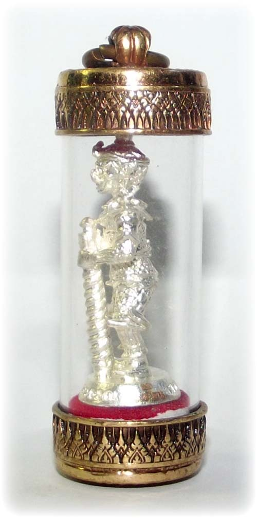 side view of Taw Waes Suwasn amulet