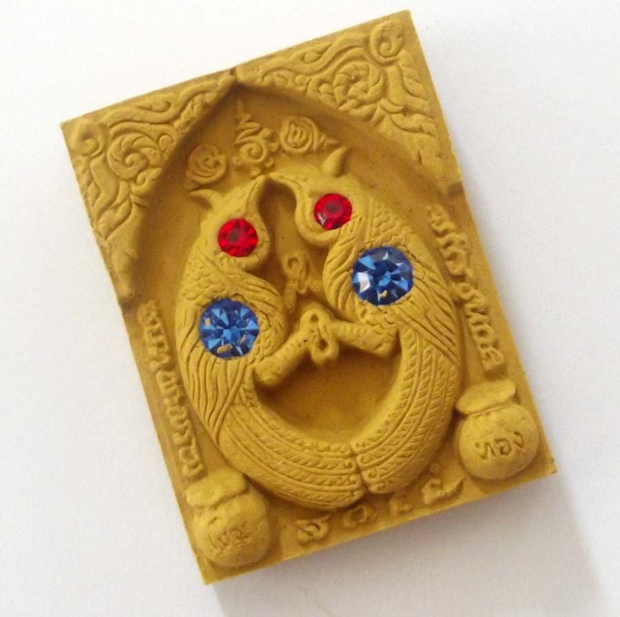 Sariga Bird amulets by LP Goy - SApecial 16 Takrut version