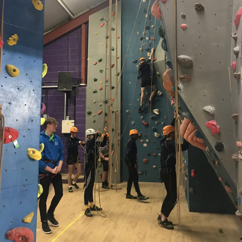 Kids Climbing Tasters