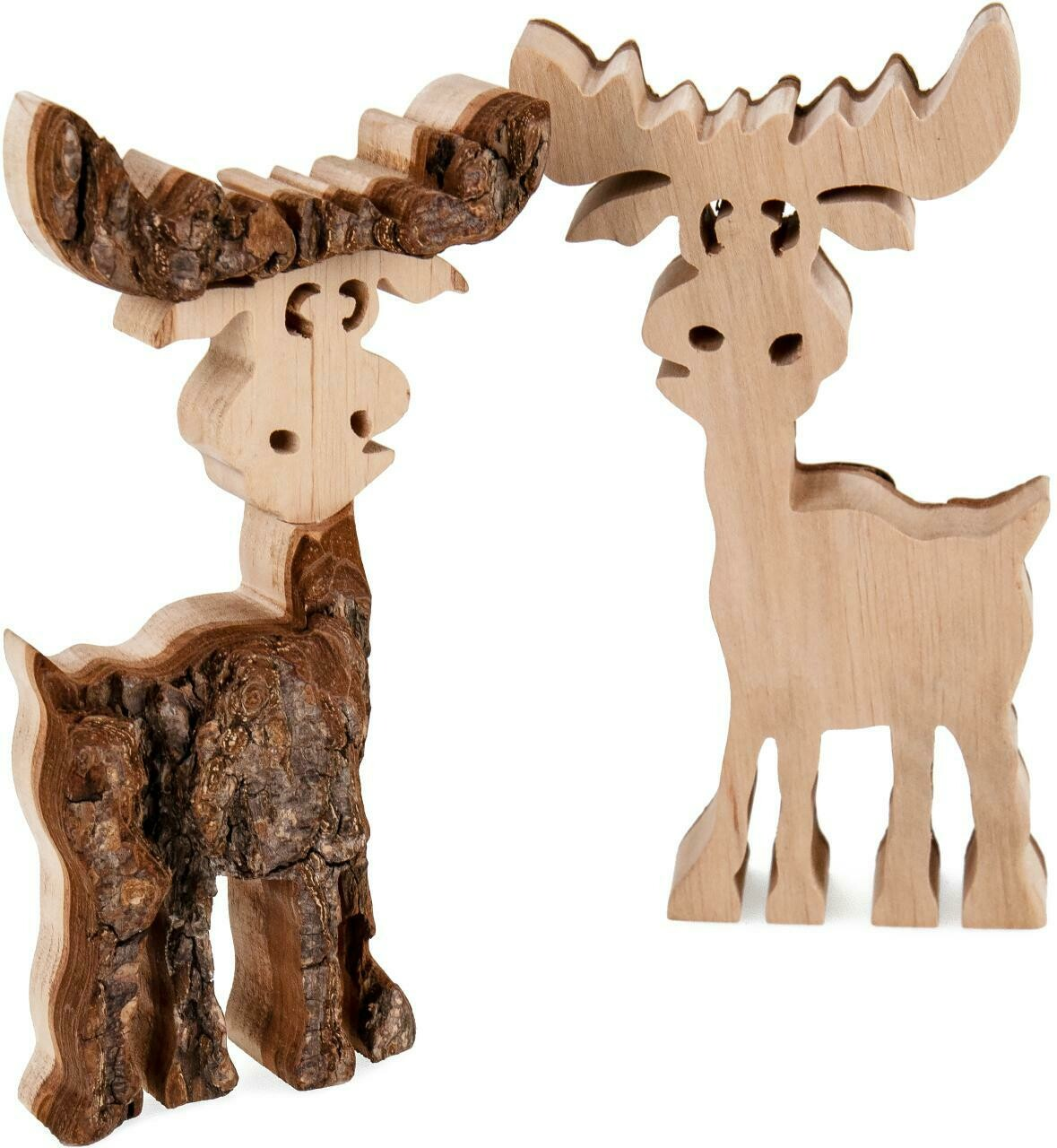 Holz-Tiere