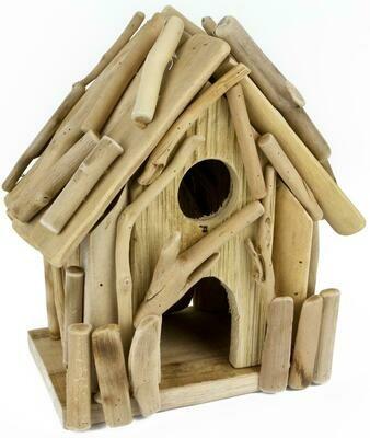 Vogelhaus aus Treibholz