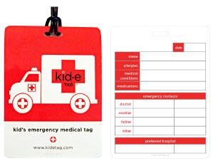 Kid-e Tags Car Seat/Bag Tag