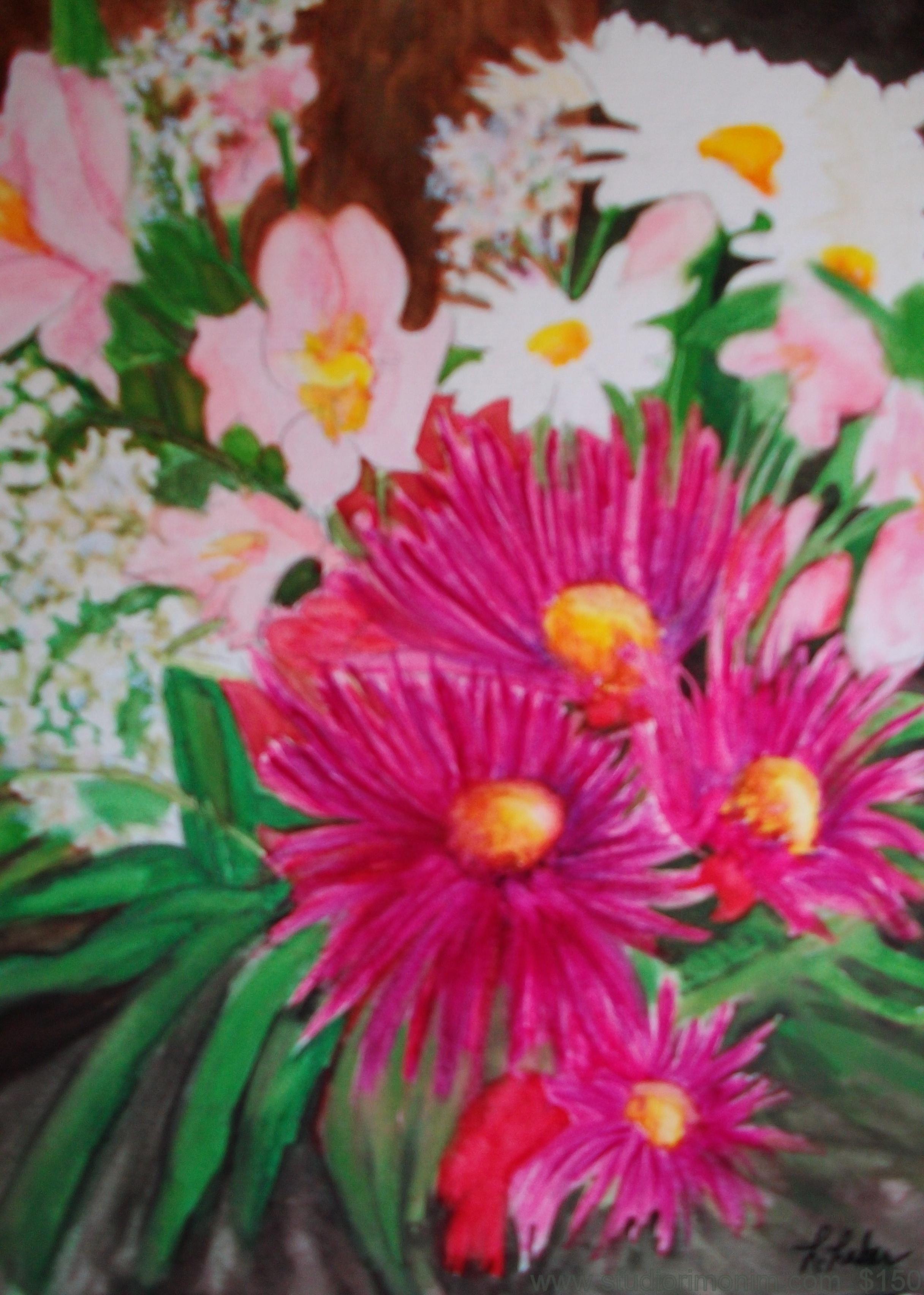 Pretty In Pink Garden 103