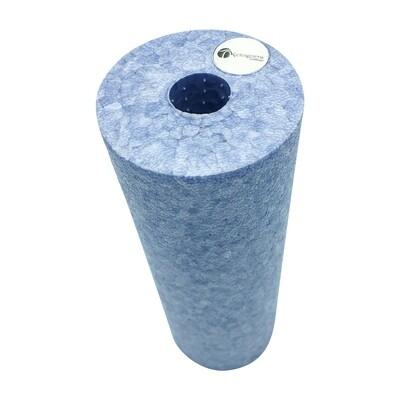 Faszienrolle silber-blau 15 cm Länge