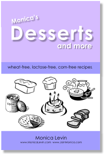 e-book Monica's Desserts and More eBKDESSERT