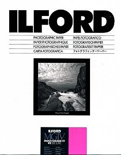 "Ilford Multigrade IV Glossy 8x10"" 20.3x25.4cm 100 pack"