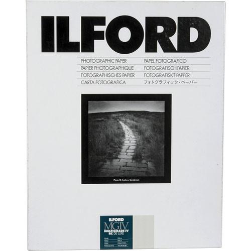 "Ilford Multigrade IV Pearl 8x10"" 20.3x25.4cm 100 pack"