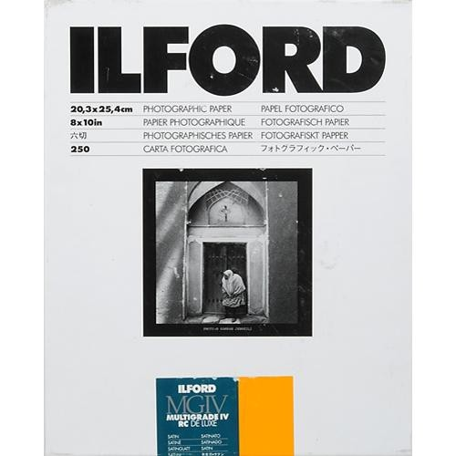 "Ilford Multigrade IV Satin 8x10"" 20.3x25.4 25 pack"