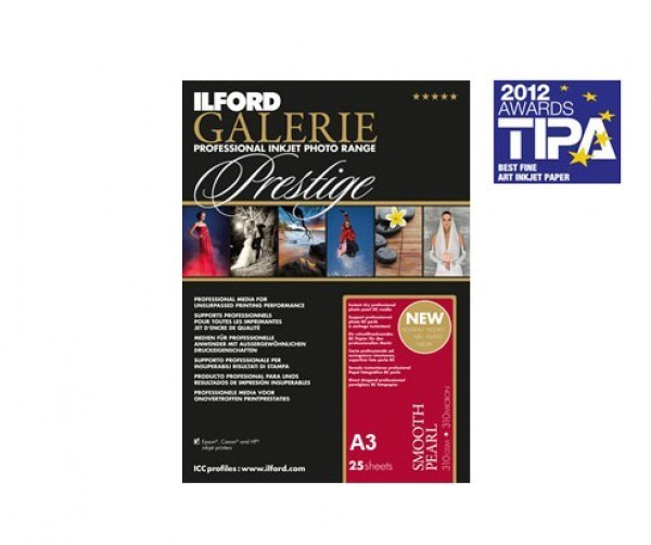 Ilford Galerie Prestige Smooth Pearl A3 25 Sheets